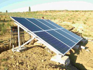 Sistem solarnog navodnjavanja u irigu 2017 uz Lorentz pumpe