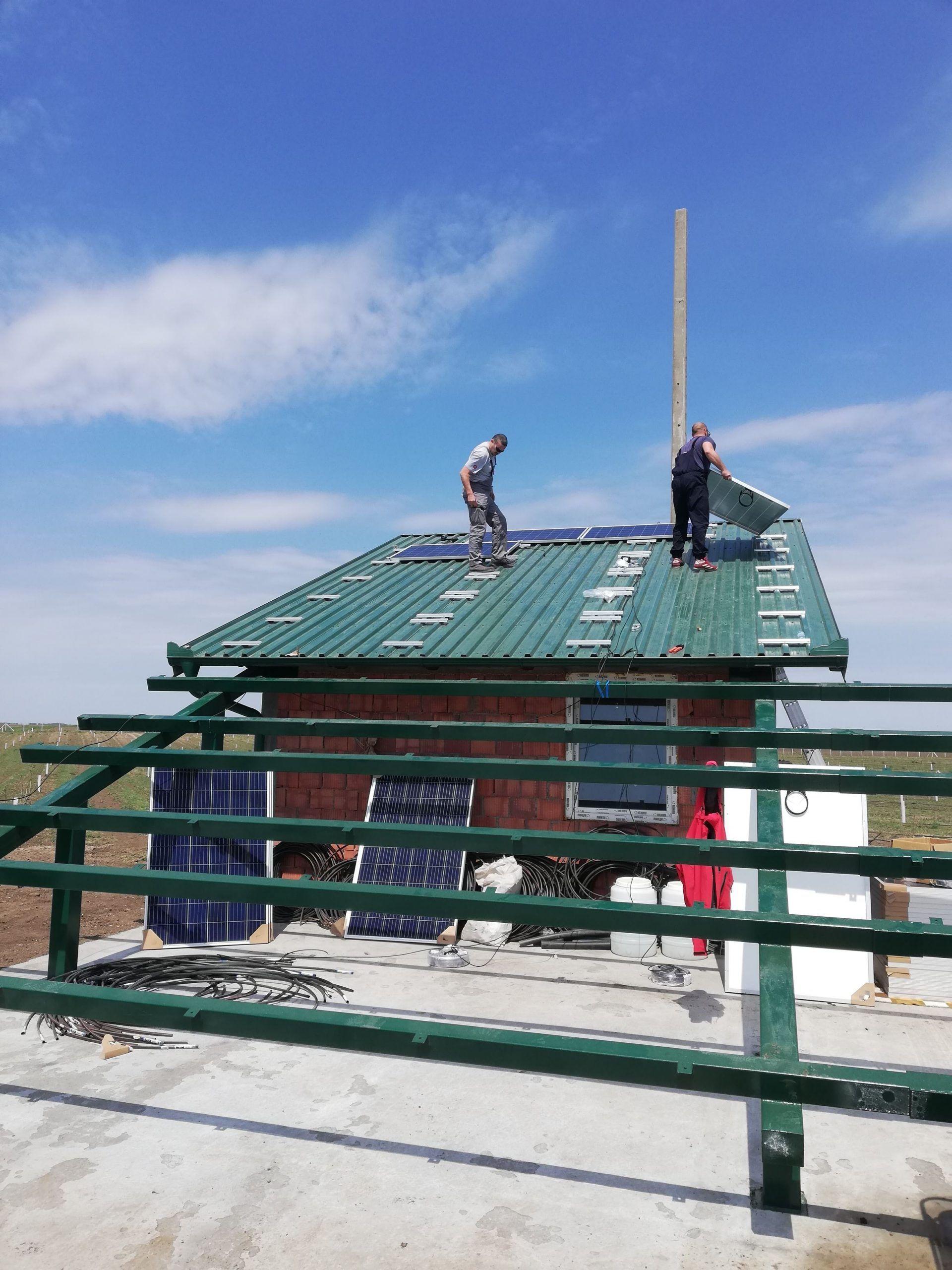 Sivac solarno navodnjavanje montaza